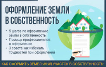 Этапы оформления земельного участка в собственность