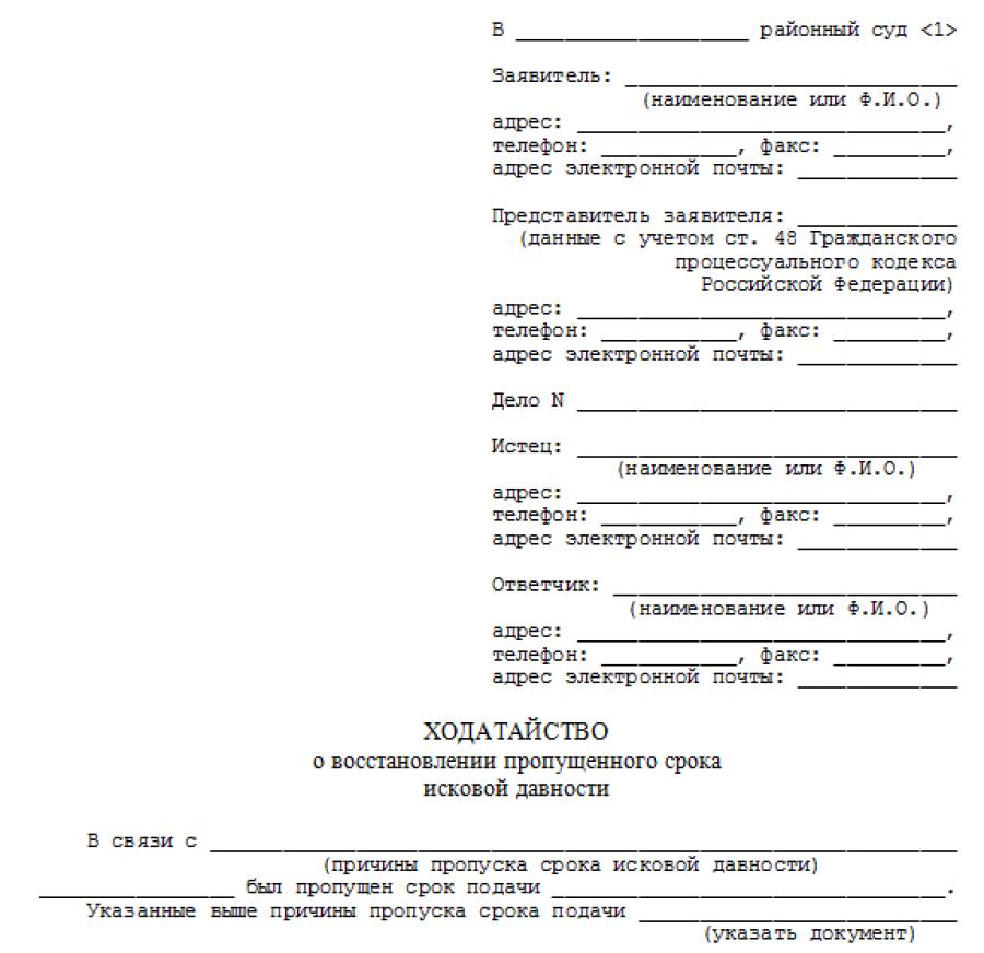 Ходатайство о восстановлении срока подачи апелляционной жалобы в 2020 году — апк, гпк, упк, образец