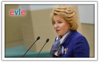 Мнение Матвиенко о налоге для самозанятых
